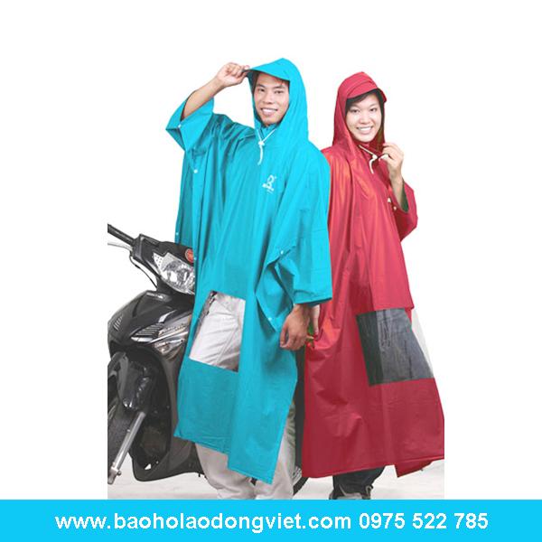 Áo mưa Poncho cổ rùa trơn có kiếng, áo mưa, áo mưa bộ, áo mưa rando, Quần áo bảo hộ, Quần áo bảo hộ lao động
