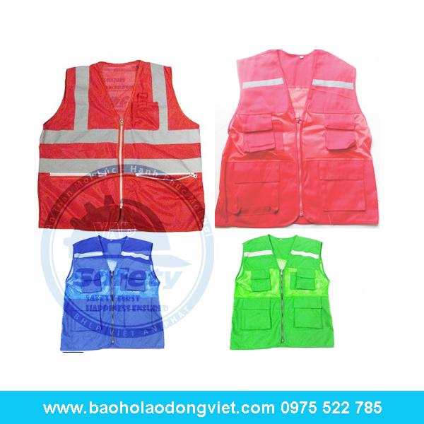 Áo phản quang túi hộp, Áo phản quang, Quần áo bảo hộ, Quần áo bảo hộ lao động