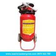 Bình chữa cháy bột ABC MFZL 35kg xe đẩy