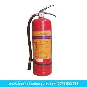Bình chữa cháy bột ABC MFZL 4kg, bình chữa cháy, bình cứu hỏa, bình chữa cháy ABC