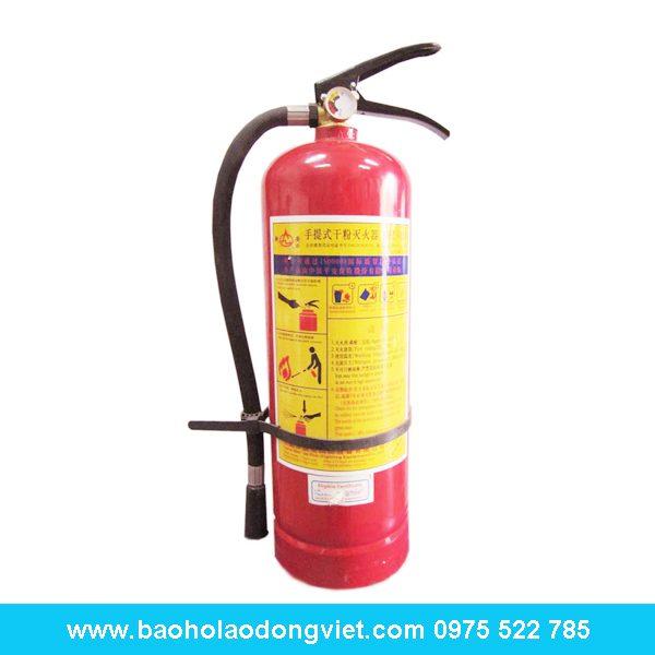 Bình chữa cháy bột BC MFZ 8kg, bình chữa cháy, bình cứu hỏa, bình chữa cháy BC