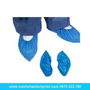 Bọc giầy nilon CPE, phòng sạch, giầy bảo hộ