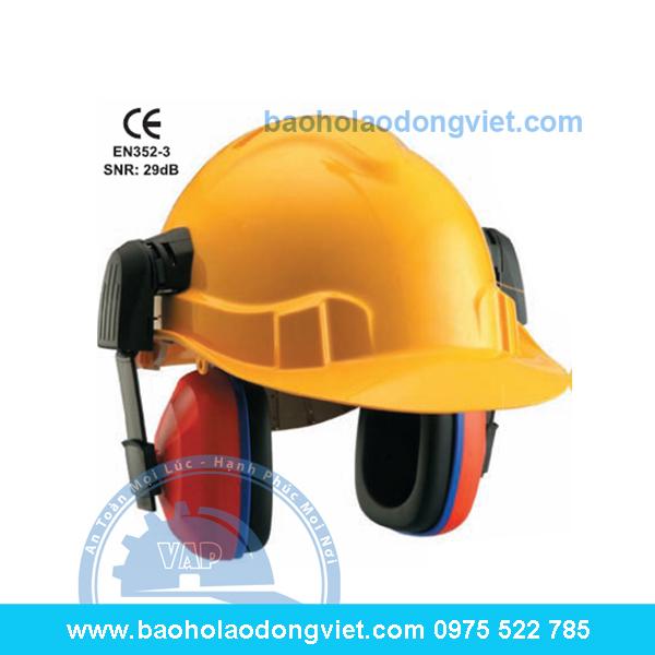Chụp tai gắn mũ bảo hộ, Chụp tai chống ồn