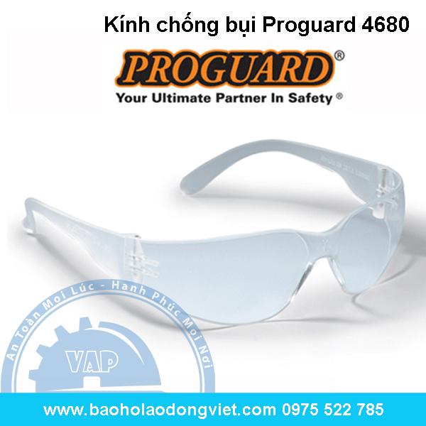 Kính chống bụi Proguard 4680, kính bảo hộ, kinh bao ho, kính bảo hộ lao động, kinh bao ho lao dong