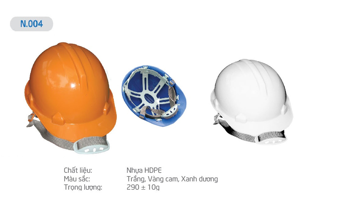 Mũ Bảo Bình N004, nón bảo bình, mũ bảo bình, mũ bảo hộ, mũ bảo hộ lao động, nón bảo hộ, nón bảo hộ lao động