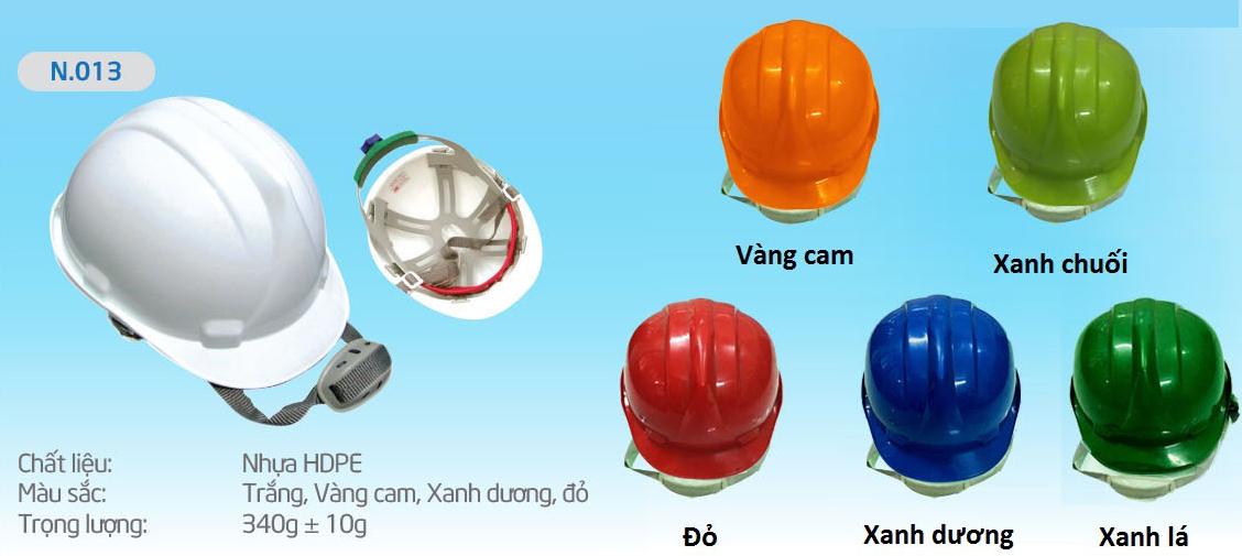 Mũ Bảo Bình N013, nón bảo bình, mũ bảo bình, mũ bảo hộ, mũ bảo hộ lao động, nón bảo hộ, nón bảo hộ lao động