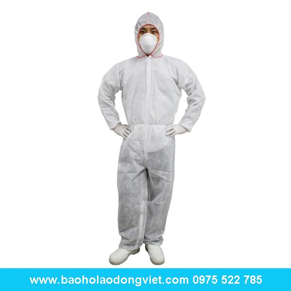 quần áo phòng sạch liền quần liền mũ, quần áo phòng sạch, quần áo chống tĩnh điện, phòng sạch, thiết bị phòng sạch, chống tĩnh điện
