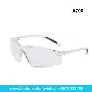 Kính bảo hộ A700 màu trắng, kính bảo hộ a700, kính bảo hộ, kinh bao ho, kính bảo hộ lao động, kinh bao ho lao dong