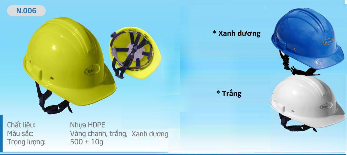 Mũ Bảo Bình N006, nón bảo bình, mũ bảo bình, mũ bảo hộ, mũ bảo hộ lao động, nón bảo hộ, nón bảo hộ lao động