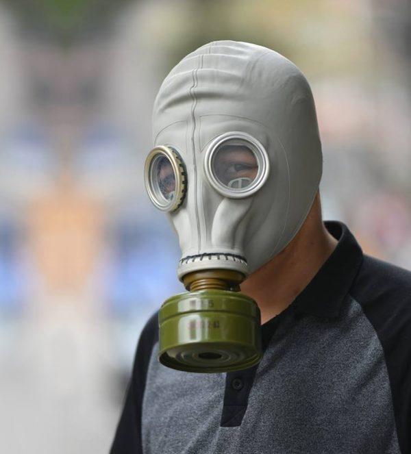 Mặt nạ không vòi Nga, mặt nạ phòng độc liên xô, Mặt nạ phòng độc, mat na phong doc