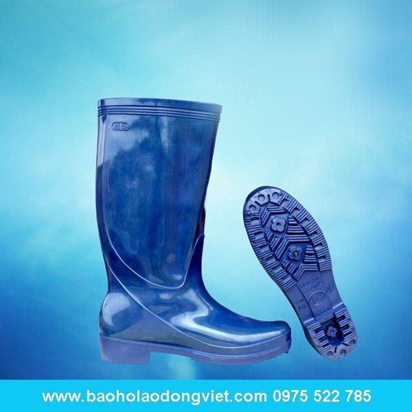 ủng nữ màu xanh cữu long 06, ủng nhựa, ủng bảo hộ, ủng bảo hộ lao động, ủng đi mưa
