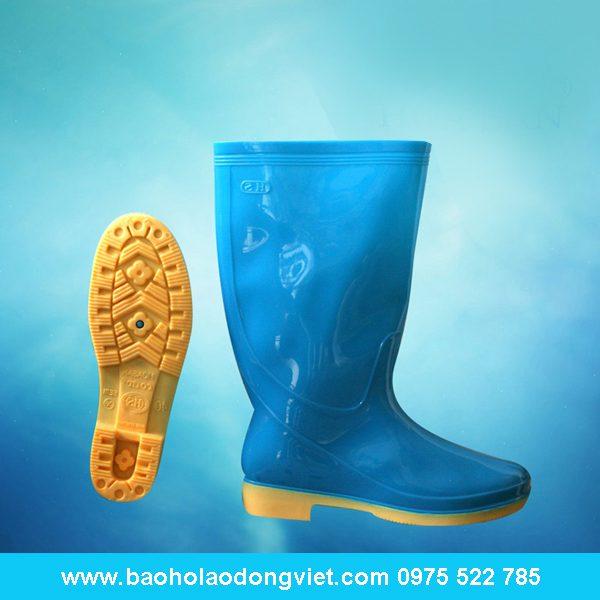 ủng nữ màu xanh ngọc 06, ủng nhựa, ủng bảo hộ, ủng bảo hộ lao động, ủng đi mưa