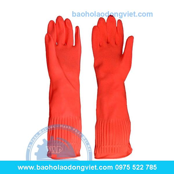 Găng tay Cao su Bông Sen, găng tay cao su, găng tay bảo hộ, găng tay bảo hộ lao động