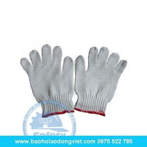Găng tay Len kim 10, găng tay len, găng tay bảo hộ, găng tay bảo hộ lao động