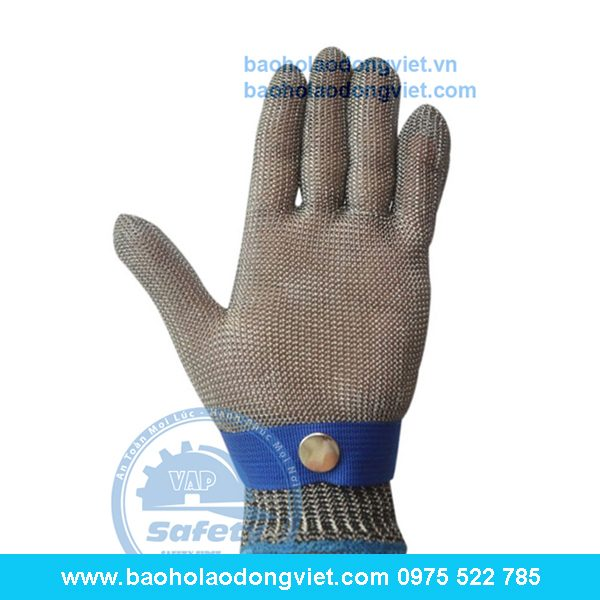 Găng tay chống cắt thép 5 ngón, găng tay bảo hộ, găng tay bảo hộ lao động, găng tAy chống cắt