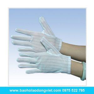 Găng tay chống tĩnh điện polieste 60g, găng chống tĩnh điện, găng tay bảo hộ, găng tay bảo hộ lao động