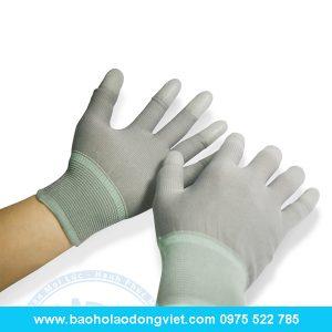 Găng tay phủ PU bàn tay, GĂNg tay len, găng tay phủ PU, găng tay bảo hộ, găng tay bảo hộ lao động