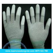 găng tay Conductive Phủ PU ngón
