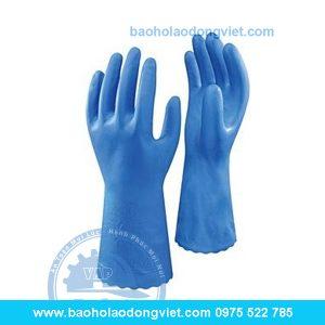 găng tay chống dầu showa 160, găng tay chống dầu, găng tay bảo hộ, găng tay bảo hộ lao động