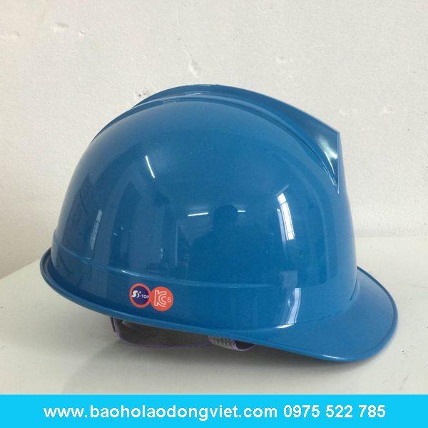 mũ bảo hộ SSTOP màu blue, mũ bảo hộ SSTOP