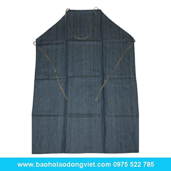 tạp dề vải bò hàn quốc