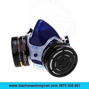 Mặt nạ phòng độc DM-8024, mặt nạ lọc độc DM-8024, mặt nạ nữa mặt DM-8024, mặt nạ 2 phin lọc DM-8024, Mặt nạ DM-8024, mặt nạ chống độc DM-8024, mặt nạ chống hóa chất DM-8024