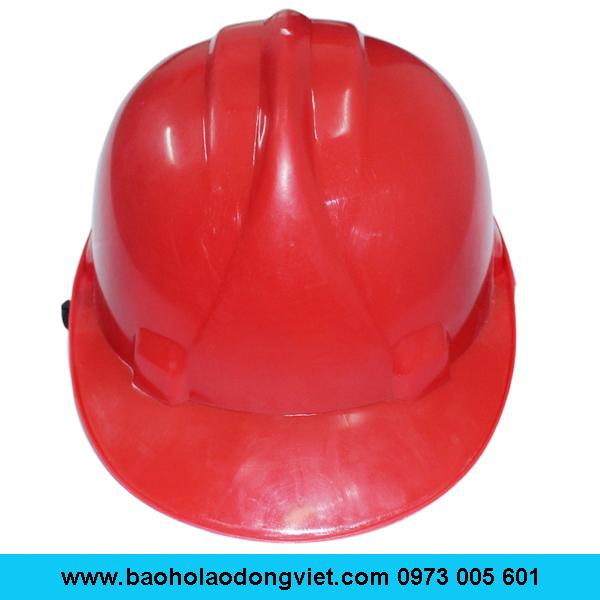 Mũ Bảo hộ quai cài, Mũ Bảo hộ laođộng , nón bảo hộ laođộng, mũ Nhật quang loại 1, mũ bảo hộ loại 1 màu đỏ