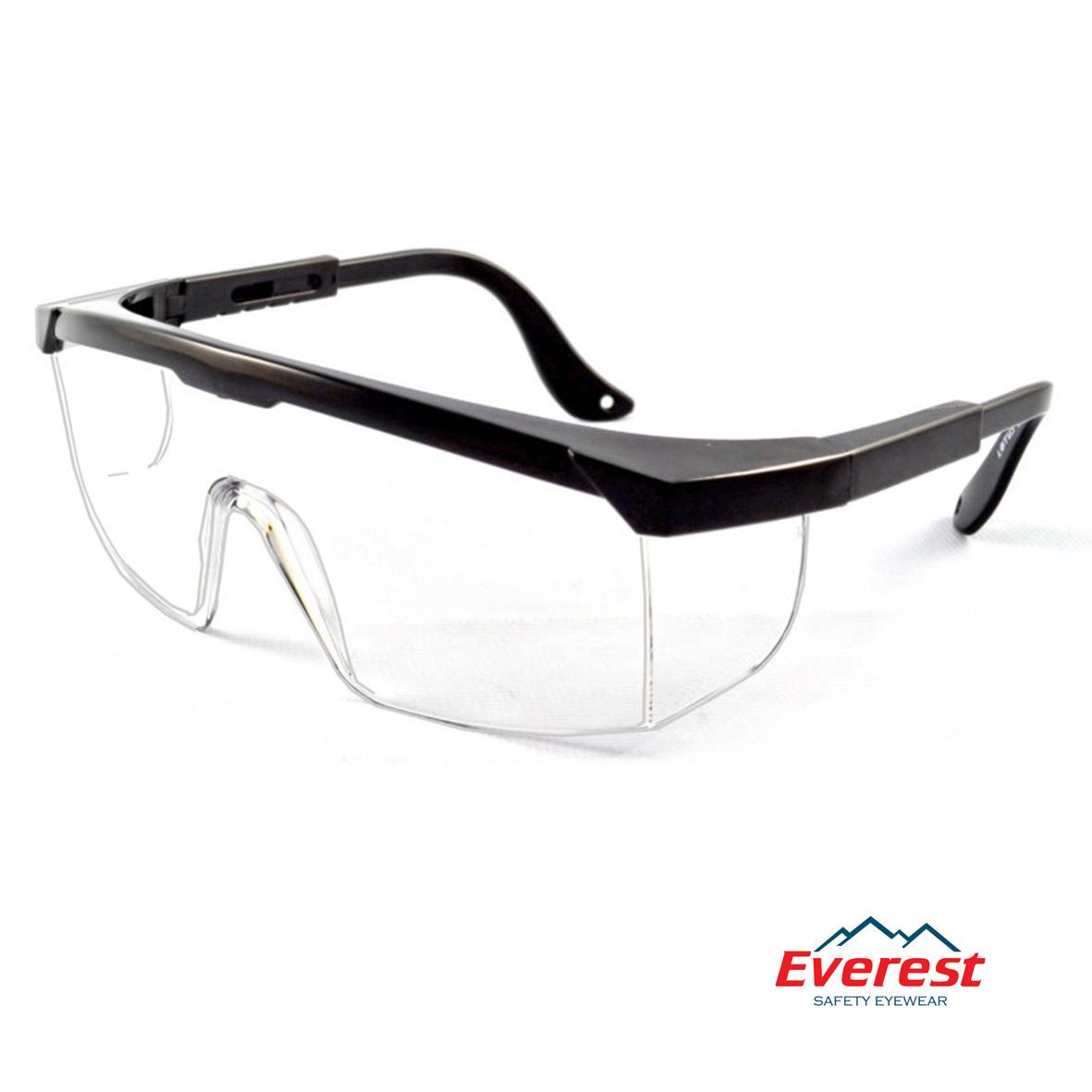 Kính bảo hộ EV105 màu trắng, kính chống bụi EV105 màu trắng, kính bảo hộ chống bụi, kính chống bụi EV105, kính chống tia uv EV105