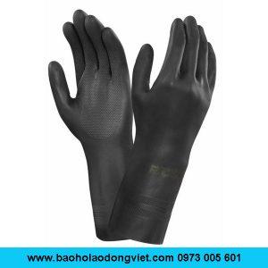 Găng tay chịu Axit Ansell 87-118, Găng tay chống Axit Ansell 87-118, Găng tay chống hóa chất Ansell 87-118, Găng tay Ansell 87-118, Găng tay hóa chất Ansell 87-118