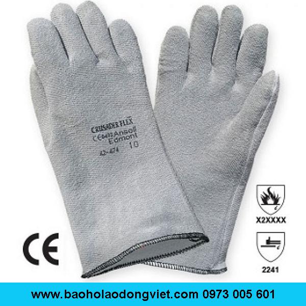 Găng tay chịu nhiệt Ansell 42-474,Găng tay Ansell 42-474,Găng tay chịu nhiệt 42-474,Găng tay 42-474