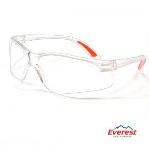 Kính bảo hộ EV201 màu trắng, kính chống bụi EV201 màu trắng, kính bảo hộ chống bụi, kính chống bụi EV201, kính chống tia uv EV201