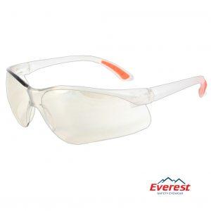 Kính bảo hộ EV203 trắng tráng bạc, kính chống bụi EV203 trắng tráng bạc, kính bảo hộ chống bụi, kính chống bụi EV203, kính chống tia uv EV203