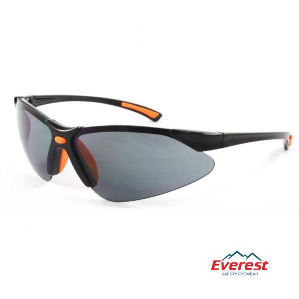 Kính bảo hộ EV302 màu đen, kính chống bụi EV302 màu đen, kính bảo hộ chống bụi, kính chống bụi EV302, kính chống tia uv EV302