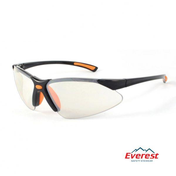 Kính bảo hộ EV303 trắng tráng bạc, kính chống bụi EV303 trắng tráng bạc, kính bảo hộ chống bụi, kính chống bụi EV303, kính chống tia uv EV303