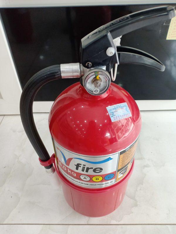 Bình bột chữa cháy ABC HanKook Hàn Quốc 4kg