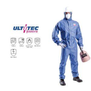 Quần áo chống hóa chất Ultitec 1000FR, Quần áo chống hóa chất Ultitec, áo liền quần chống hóa chất Ultitec 1000FR, Ultitec 1000FR
