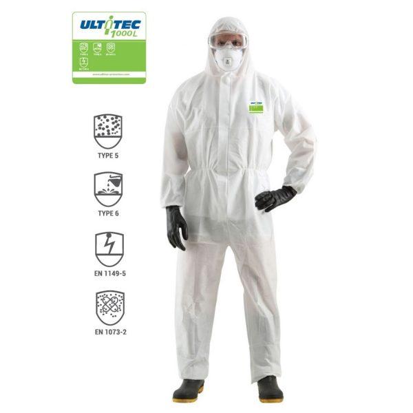 Quần áo chông hóa chất Ultitec 1000L