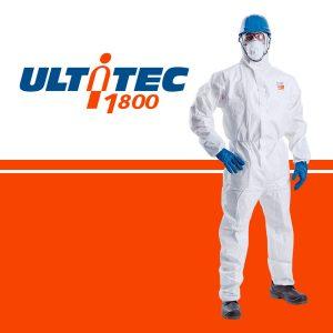 Quần áo chống hóa chất Ultitec 1800, Quần áo chống hóa chất Ultitec, áo liền quần chống hóa chất Ultitec 1800, Ultitec 1800