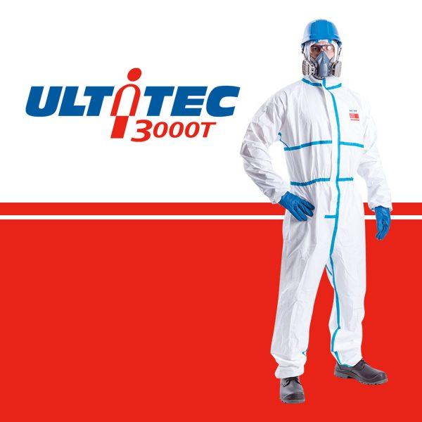 Quần áo chống hóa chất Ultitec 3000T, Quần áo chống hóa chất Ultitec, áo liền quần chống hóa chất Ultitec 3000T, Ultitec 3000T