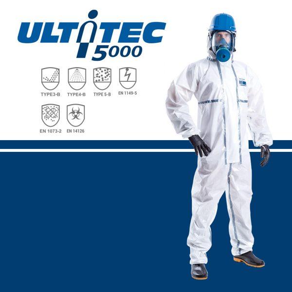 tag : Quần áo chống hóa chất Ultitec 5000, Quần áo chống hóa chất Ultitec, áo liền quần chống hóa chất Ultitec 5000, Ultitec 5000
