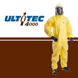 Quần áo chống hóa chất Ultitec 4000, Quần áo chống hóa chất Ultitec, áo liền quần chống hóa chất Ultitec 4000, Ultitec 4000