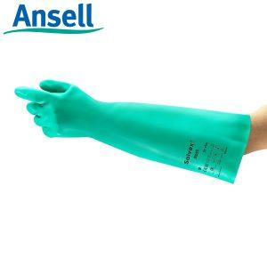 Găng tay chống hóa chất Ansell Solvex 37-185, Găng tay chống hóa chất Ansell 37-185, Găng tay chống hóa chất 37-185, Găng tay 37-185, Găng tay Ansell 37-185, Găng tay chống dầu Ansell 37-185, Găng tay chống Acid Ansell 37-185